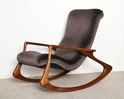 Stylish Rocking Chair Stylish Vladimir Kagan Chair In Furniture Ideas C95 With Vladimir