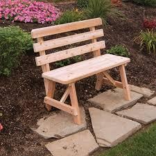 Red Cedar Outdoor Furniture by Best 25 Cedar Bench Ideas On Pinterest Courtyard Ideas