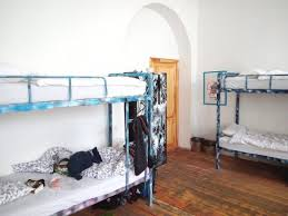Two Bunk Beds Two Bunk Beds And The Lockers To The Door Room 5 Picture