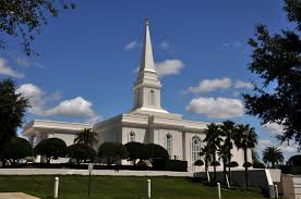Lds Temples Map Orlando Florida Temple