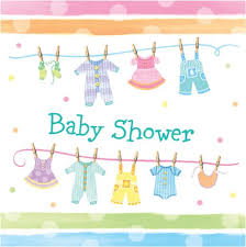 baby shower in baby shower napkins 16s non stop party shop