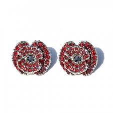 poppy earrings here they are all your sparkly poppy options ready for