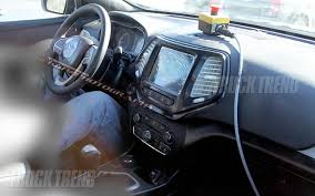 jeep africa interior spied 2014 jeep liberty inside and out truck trend news
