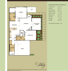 Canterbury Floor Plan by Models Cornerstones At Oxmoor Valley Epcon Communities