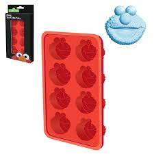 candy mold ice cube tray u2013 sesame street elmo cake connection