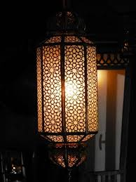 moroccan pendant lamp light octagon shape white glass wrapped