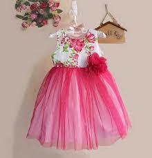desain baju gaun anak anak perempuan lucu desain dress cantik model terbaru