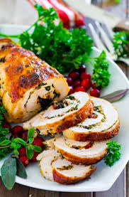 stuffed turkey breast recipe chefdehome