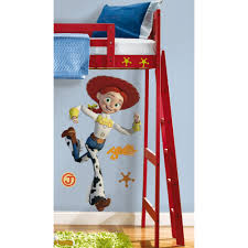 disney toy story jessie giant sticker great kidsbedrooms the home disney toy story