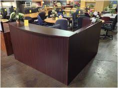 Espresso Reception Desk Espresso Reception Desk By Direct Office Solutions In Fort