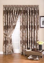 Pencil Pleat Curtain Tape Whiteheads Lucille Taupe Brown Lined Ready Made Pencil Pleat Tape
