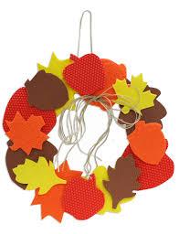 creative hands text ur foam fall wreath kids craft fall
