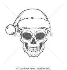 vectors illustration of heavy metal christmas design bad santa