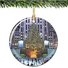 rockefeller center ornament tree