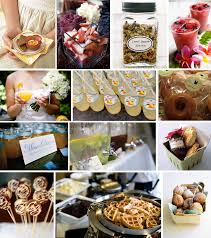 ideas for a brunch wedding details morning food and decor ideas