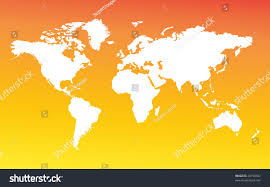 Continents And Oceans Map Blank by Map Whole World Images All Continents Stock Illustration 44798602
