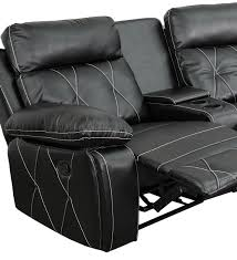 curved home theater seating amazon com flash furniture reel comfort series 3 seat reclining