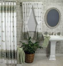 Bathroom Window Valance Ideas Shower Curtain With Matching Window Valance Dragon Fly
