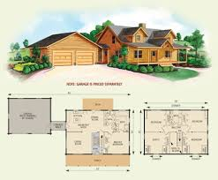 log home floor plans with garage northridge iii log home floor plan