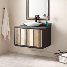 Powder Room Vanity With Vessel Sink 36