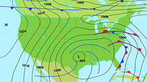 map of us weather forecast weather map east usa stock footage synthetick