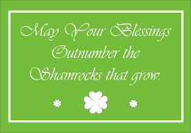 moments with the montano u0027s irish blessings free printable
