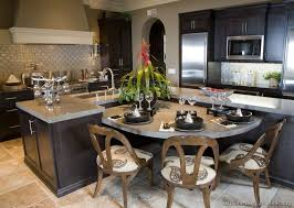 Traditional Kitchen - pictures of kitchens traditional dark espresso kitchen cabinets
