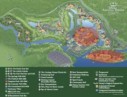 Walt Disney World Resorts Map by Preferred