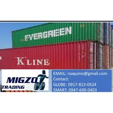40 ft high cube hc container van class b dry container for sale