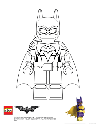 batgirl lego batman movie coloring pages printable