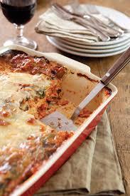 cheesy chicken and vegetable lasagna paula deen