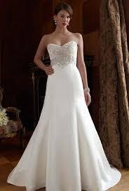 formal wedding dresses casablanca ivory satin stunning gown w pearls and swarovski