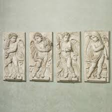 Garden Wall Plaque by Greek Roman Home Decor Touch Of Class