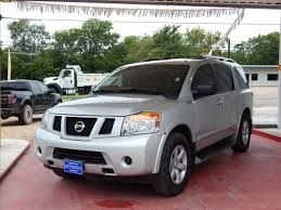 nissan armada houston tx silver nissan armada in texas for sale used cars on buysellsearch