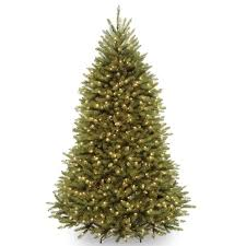 7 5 foot dunhill fir pre lit or unlit artificial tree