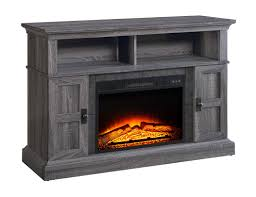 whalen brown cherry tv stand whalen media fireplace console for tvs up to 55