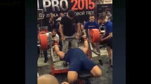Bench Press Raw Record Kirill Sarychev Sets The Current World Record Bench Press 335 Kg