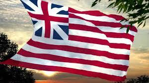 Union Of The Flag Usa 1775 1777 Grand Union Flag Youtube