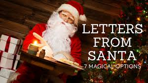 letters from santa 7 jolly options for magic by mail