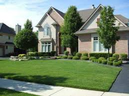 front yard landscaping ideas easy to accomplish newest cream