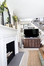 how to decorate around a fireplace decorating around a tv bless er house