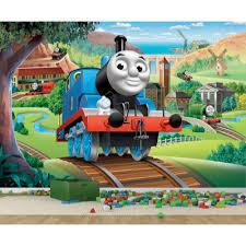 thomas the train wall art shenra com worlds apart thomas the tank engine toy box childsmart