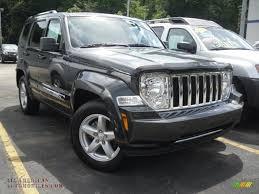 dark gray jeep 2011 jeep liberty limited 4x4 in dark charcoal pearl 519052