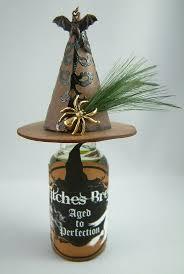 Wine Bottle Halloween Crafts by 505 Best Ahe Bottles Jars Potions Images On Pinterest