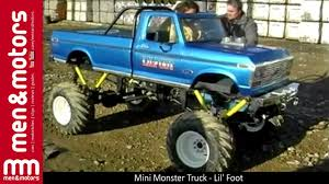 youtube monster trucks racing mini monster truck lil u0027 foot youtube