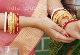 shakha pola bangles indian blush traditioal and trendy bengali wedding jewellery