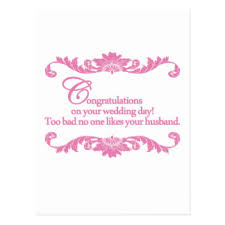 Congratulations On Your Wedding Day Congratulations On Your Wedding Postcards Zazzle