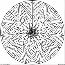 awesome geometric design pattern coloring pages printable with
