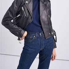 leather jacket what to wear with to look awesome