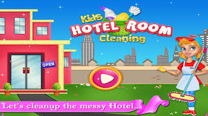fun baby games kids hotel room cleaning kids game trailer by